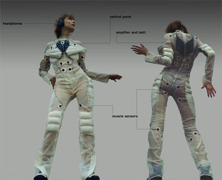 With Pacer Suit, Hear The Music With Every Move of Your Body