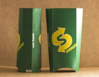 Packaging Design for Sub-Subway for Better Hygiene and Cleanliness