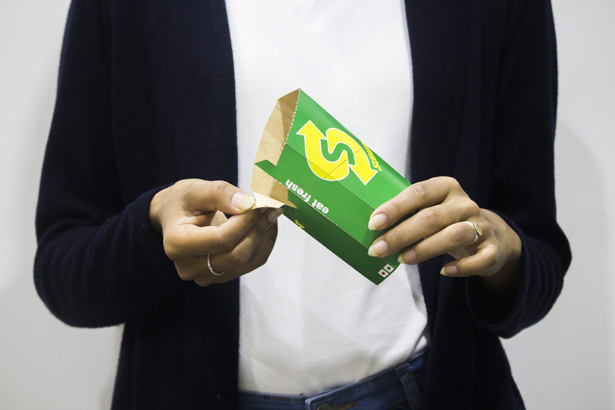 Packaging Design for Subway by Devash Shah