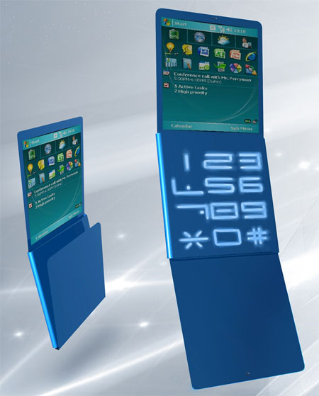 packet foldable concept phone