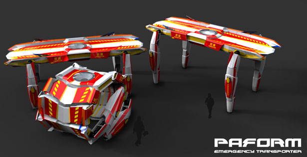 Paform Emergency Transporter by Jex Chau