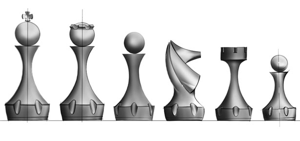 Pagani Automobili Chess by Andres Morelli