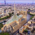 Palingenesis, Vincent Callebaut Proposes Glass Canopy for Notre-Dame de Paris Cathedral