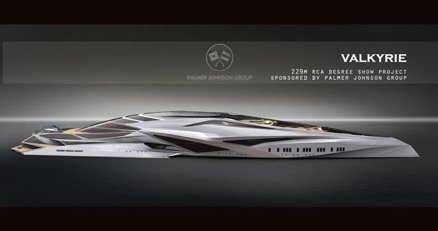 Palmer Johnson Sponsored Valkyrie Yacht by Chulhun Design