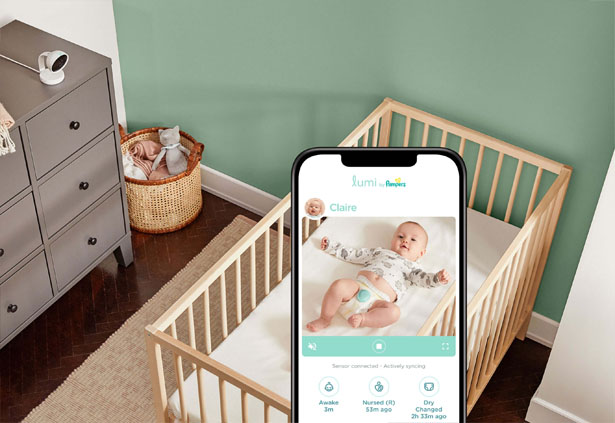Lumi Smart Diapers by Pampers