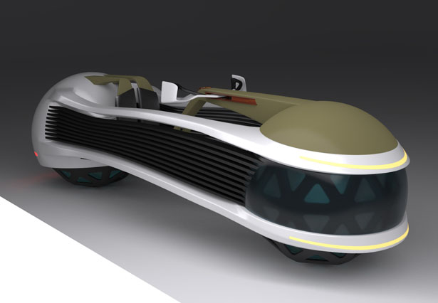 Pandur 2L Concept Features 2 Vehicles with Electromagnetic