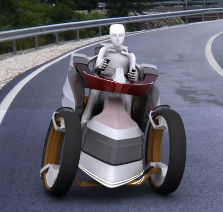 Pandur Tri-Wheeler Electric Car Features Great Performance With Unique Appearance