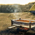 Panfold Camping Pan With Adjustable Legs