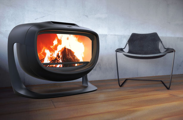 Panthera Wood Stove by Jerome Olivet