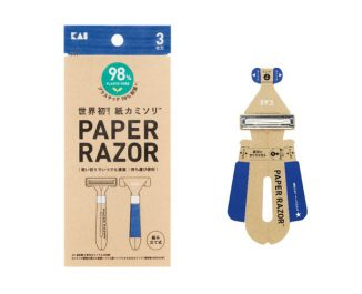 Kami Kamisori Disposable Paper Razor Folds Like Origami