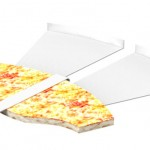 Paperboard for Pizza Slice Keeps Your Hand Mess-Free