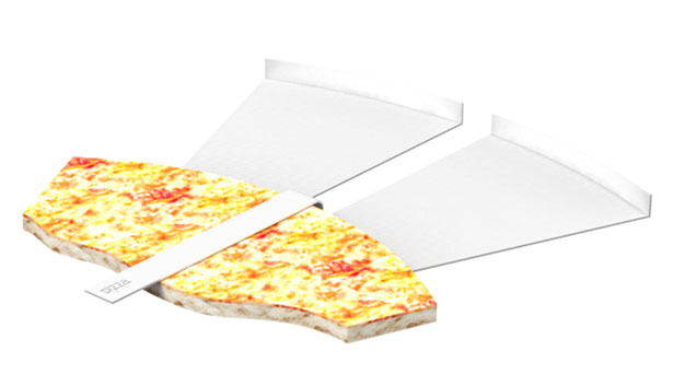 Paperboard for Pizza Slice by Snežana Jeremić