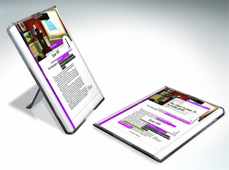 papyrus electronic reader concept