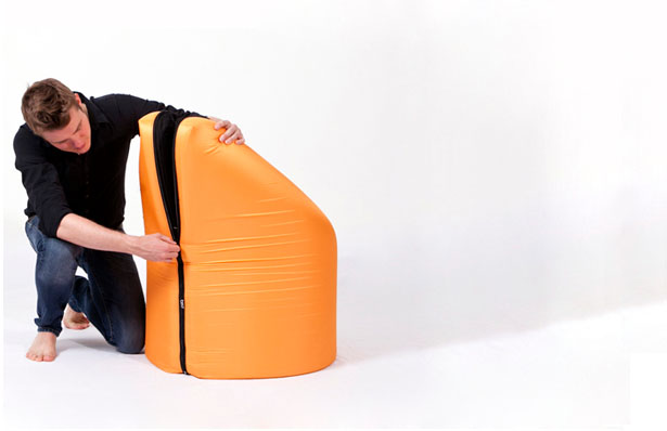 PAQ Chair by Geza Csire