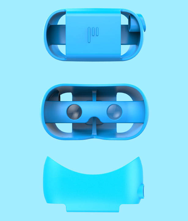 Paralo PLAY VR Headset by Chengtao Yi