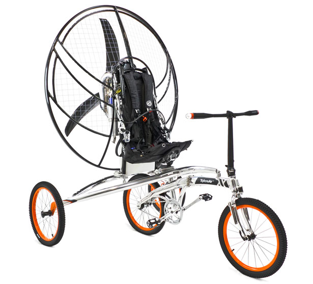 Paravelo Flying Bicycle by XploreAir