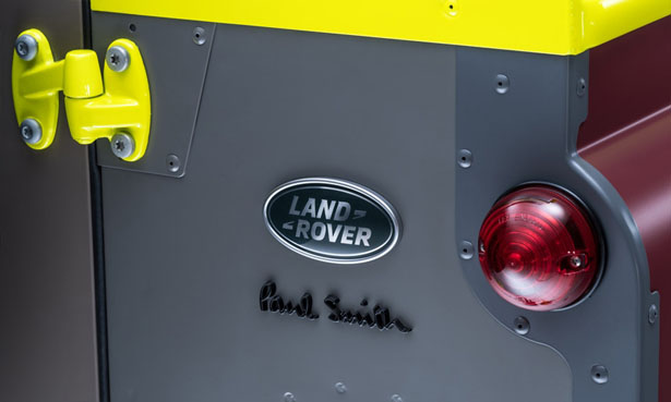Paul Smith and Land Rover Defender
