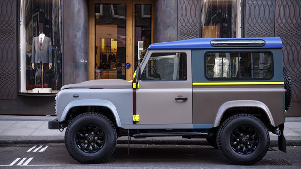 Paul Smith Re-Decorated the Iconic Land Rover Defender