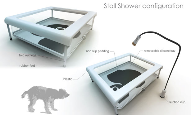 Paw Spa Dog Tub By Emil Blanco