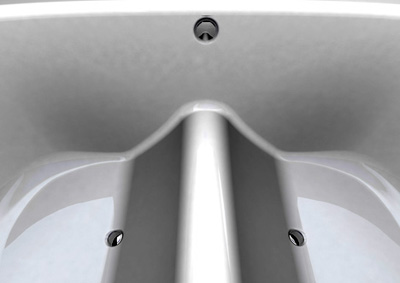 bathroom innovation peak bath for conserving water