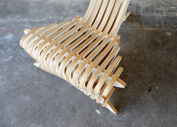 Peak Lounge Chair and Footstool by Peter Qvist Lorentsen