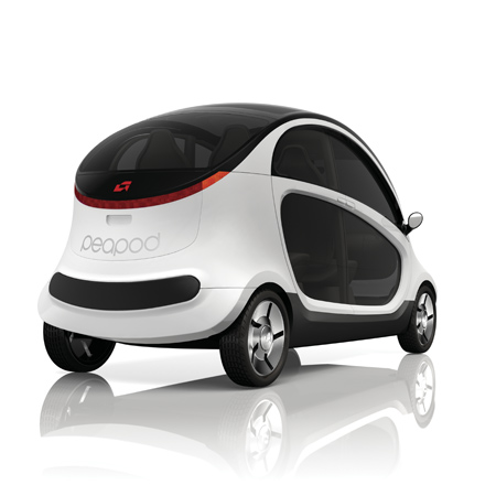 peapod electric car