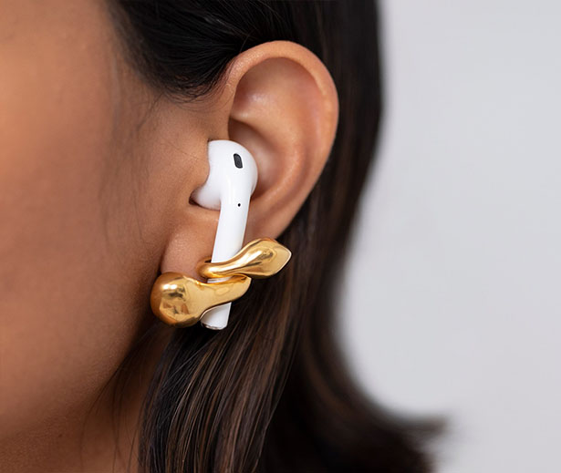 MISHO Pebble Pods - Earrings to Support Your Airpods