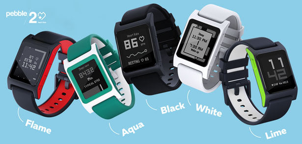 Pebble 2 and Time 2 Smartwatches from Pebble