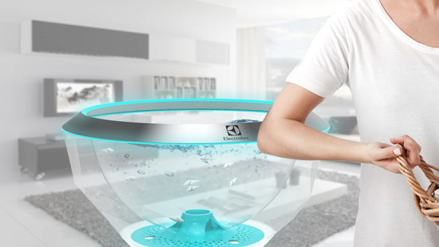 Futuristic Technology: Pecera Robot Fish Cleans Your Clothes by Chan Yeop Jeong