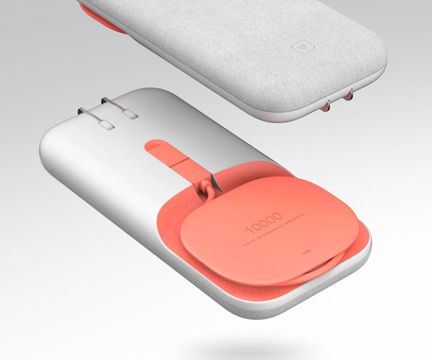 PEEL Ultra-Slim Charger Concept by Wenjie Zheng