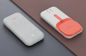 Compact PEEL Ultra-Slim Charger Concept Features Winding Mechanism