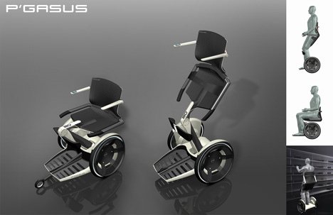 future wheelchair concept