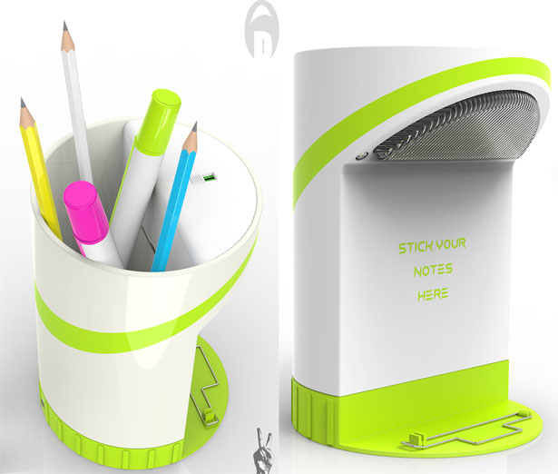 Pen Stand Designs : Mupoer pen holder concept by ajith soman tuvie