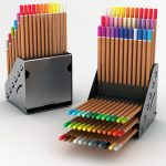 Pencilayers Adjustable Colored Pencil Holder for Designers
