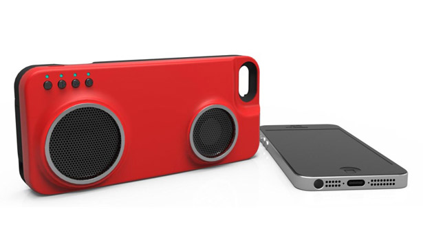 PERI Duo iPhone Case Bluetooth and Wifi Enabled Speakers