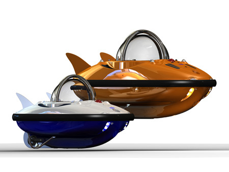Personal Submarine C-Quester Submersible