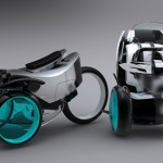 Zero-Emissions Personal Vehicle Can Be Used On The Road And In The Office