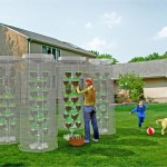 Pet Tree Vertical Eco Planting System for Urban Farming with Limited Space