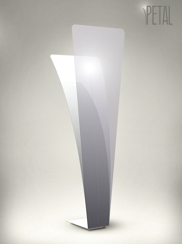 Petal Lamp Design Was Inspired by Nature