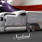 Peterbilt Sentinel Truck Concept Offers Classic and Elegant Appearance with Quality, Comfort and Functionality