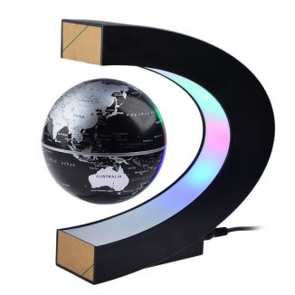 Petforu Magnetic Levitation Globe with LED Lights Would Make a Cool Education Tool