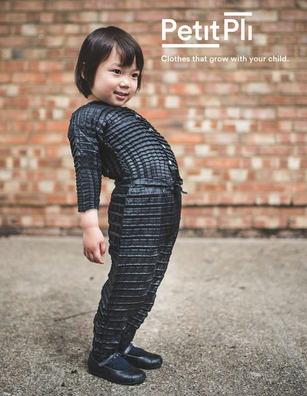 Petit Pli Clothes that Grow With Your Child