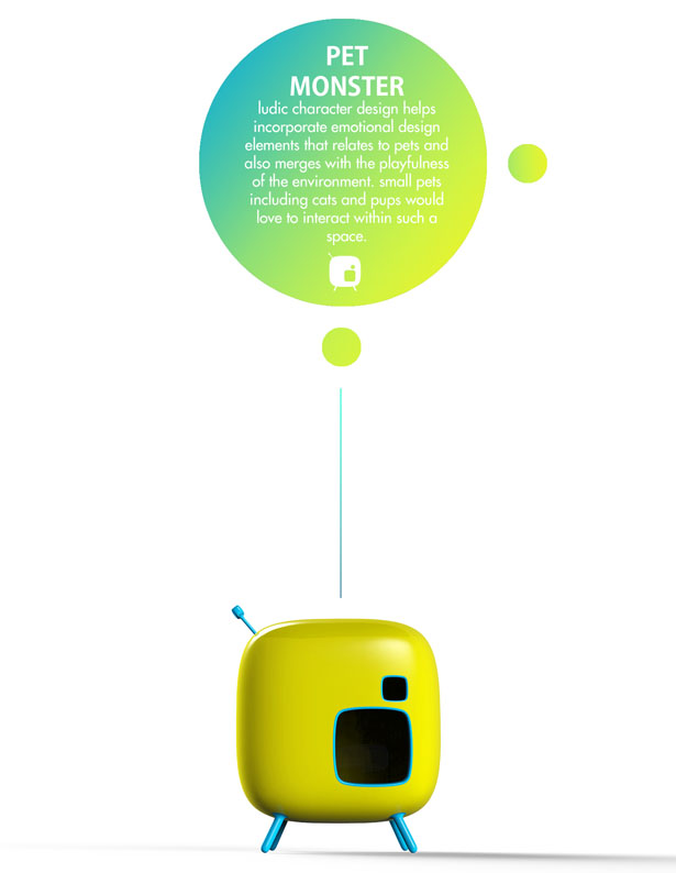 PetMonster : Smart House for Small Pet by Subinay Malhotra