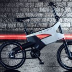 Stylish and Compact Peugeot AE21 Hybrid Bike