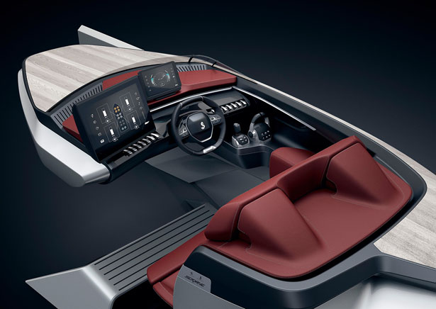 PEUGEOT and BENETEAU present the Sea Drive Concept Boat