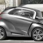 Peugeot BB1 Combines A Scooter and A Car as Future Transportation