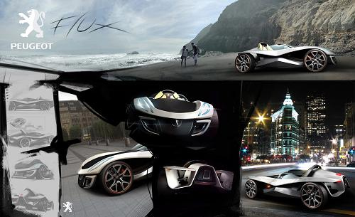 Peugeot Flux Car Concept Tuvie