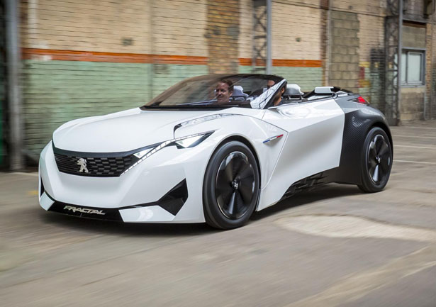 Lithium Ion Car Battery >> Peugeot Fractal Electric Urban Coupe Concept Features ...