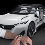 Peugeot Fractal Electric Urban Coupe Concept Features Peugeot i-Cockpit