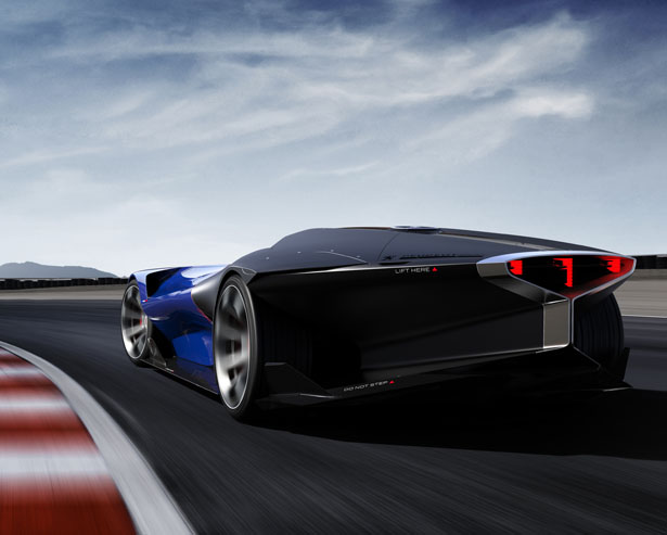 Futuristic Peugeot L500 R HYbrid Concept Car Could Be The Future of Motor Sport